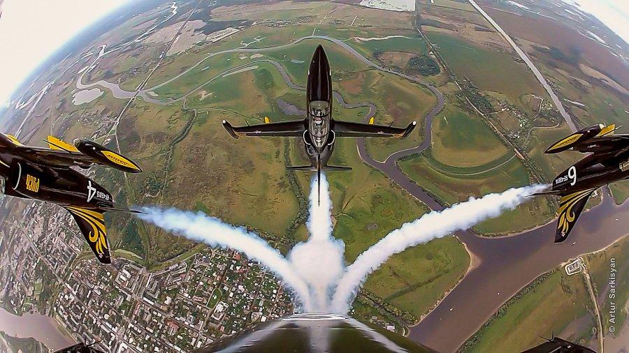 Полет на истребителе