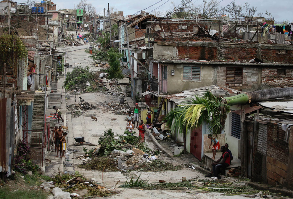 Большинство погибших на Кубе от урагана Сэнди лишились жизни под упавшими деревьями или обрушившимися зданиями