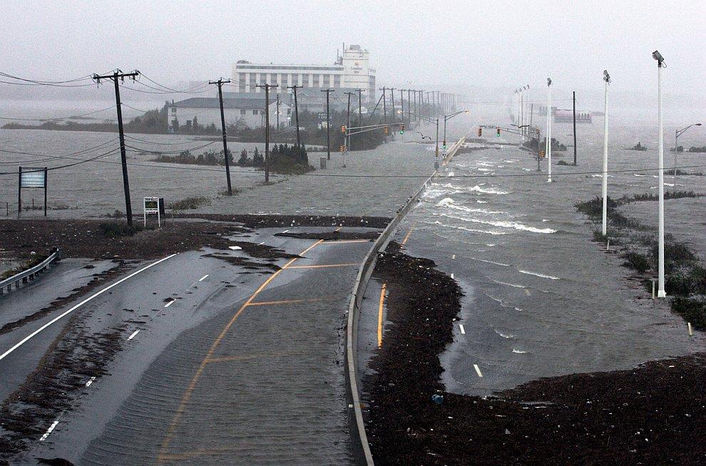 Главное шоссе в город Атлантик-Сити