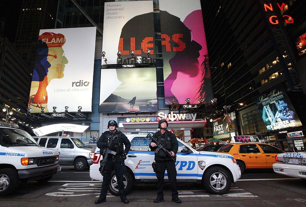 Бравые нью-йоркские полицейские