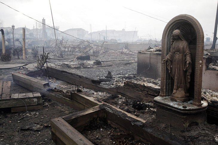 Последствия атлантического урагана Сэнди