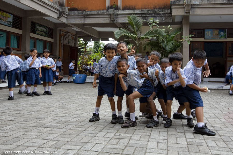 Самая позитивная школа в Индонезии