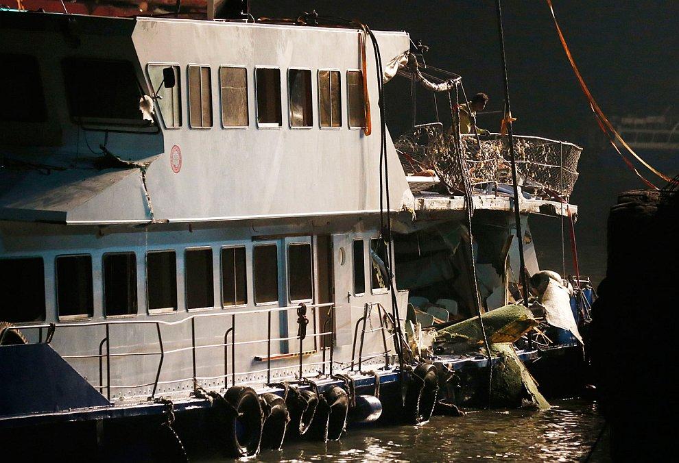 Кораблекрушение в Гонконге