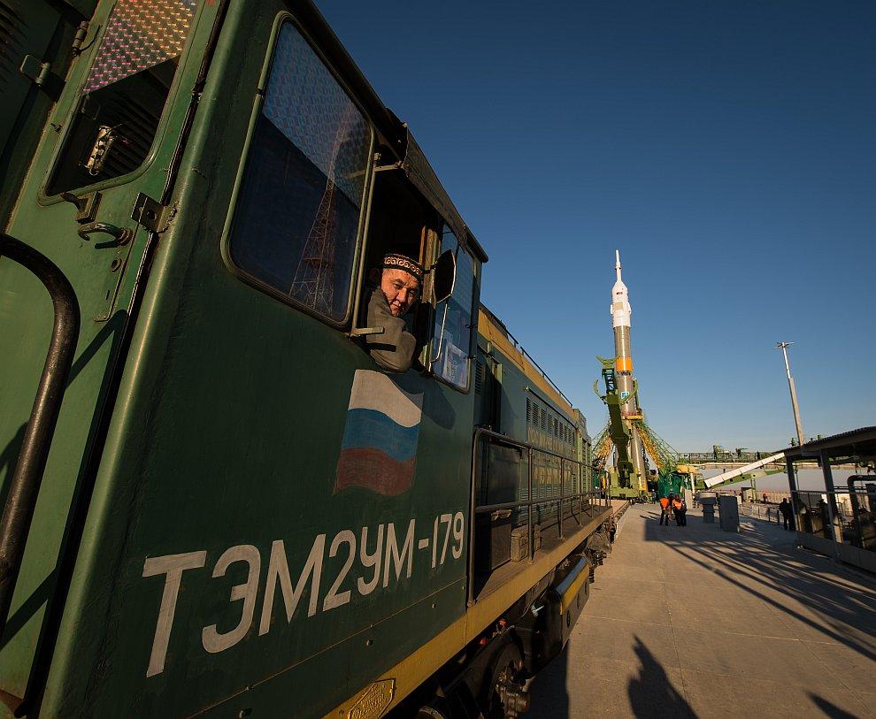 Старт космического корабля «Союз ТМА-06М» с Байконура