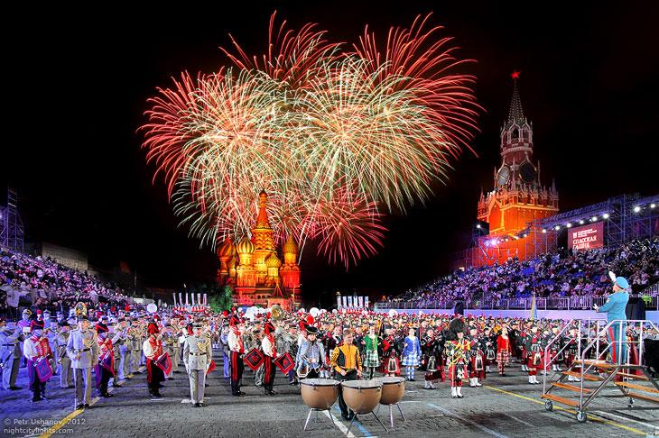 Фестиваль Спасская башня 2012