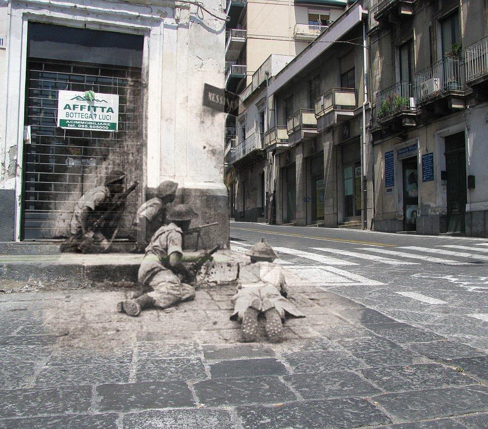 Сицилия, Италия, 1943 год