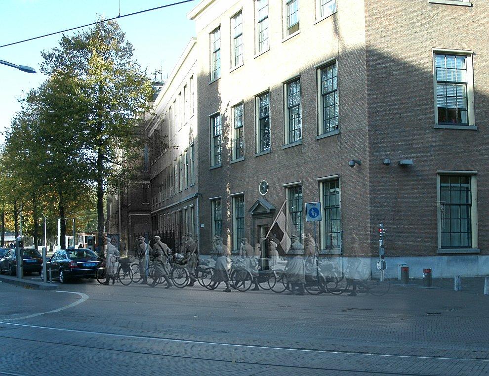 Гаага, Нидерланды, 1945