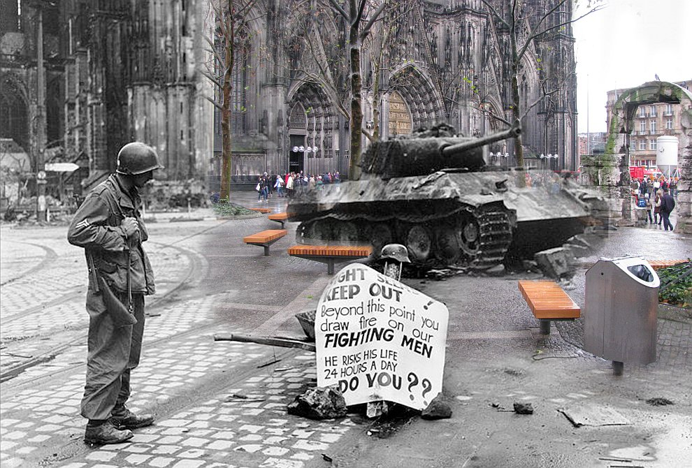 Кельн, март 1945