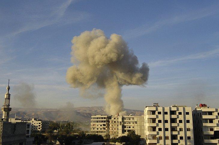 В 2012 году во время гражданской войны в Сирии город Алеппо стал ареной ожесточенных боев