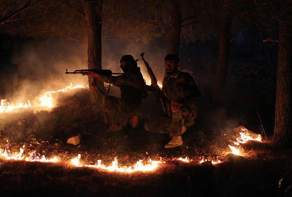 Боевики в Сирии