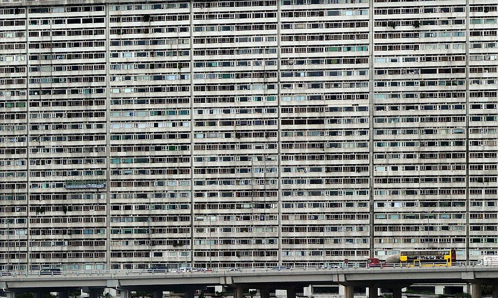 Китайские муравейники в Гонконге