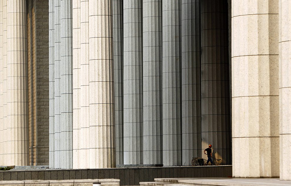 Очередная стройка в Шанхае