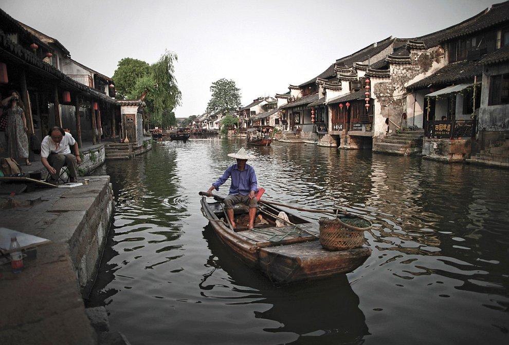 Китайская Венеция в провинции Чжэцзян