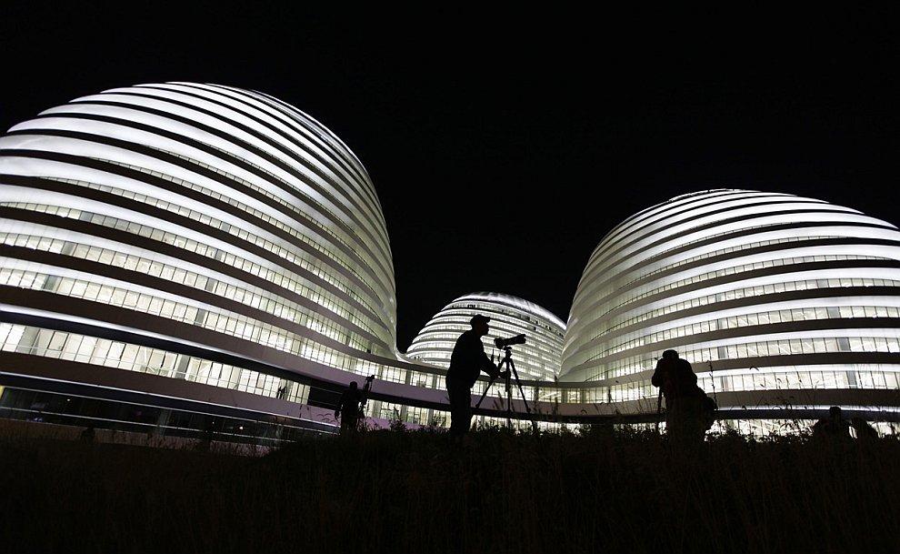 Здание Galaxy Soho в Пекине