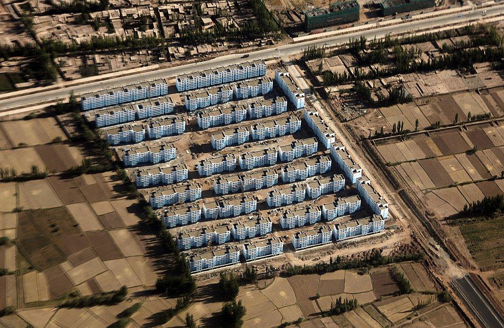 Новый жилой квартал в Кашгаре