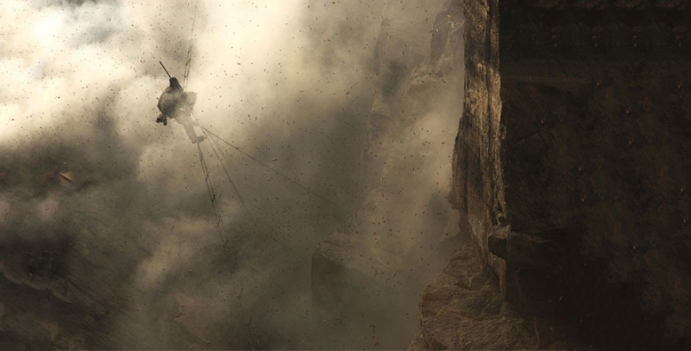 Охотники за диким медом в Непале