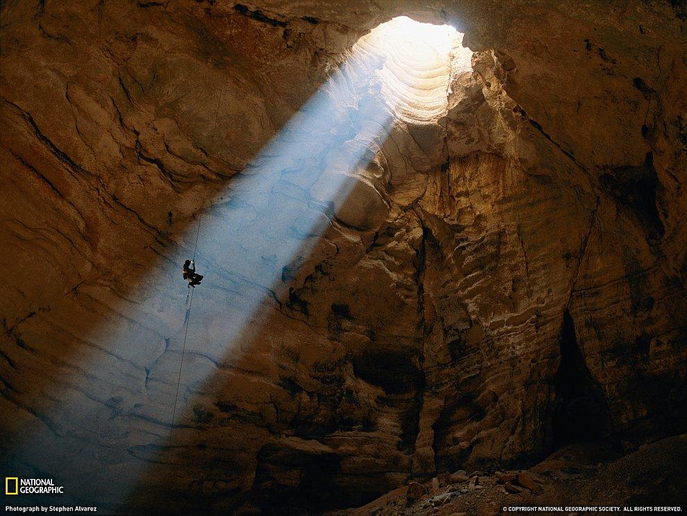 Пещера Меджлис аль-Джинн в Омане