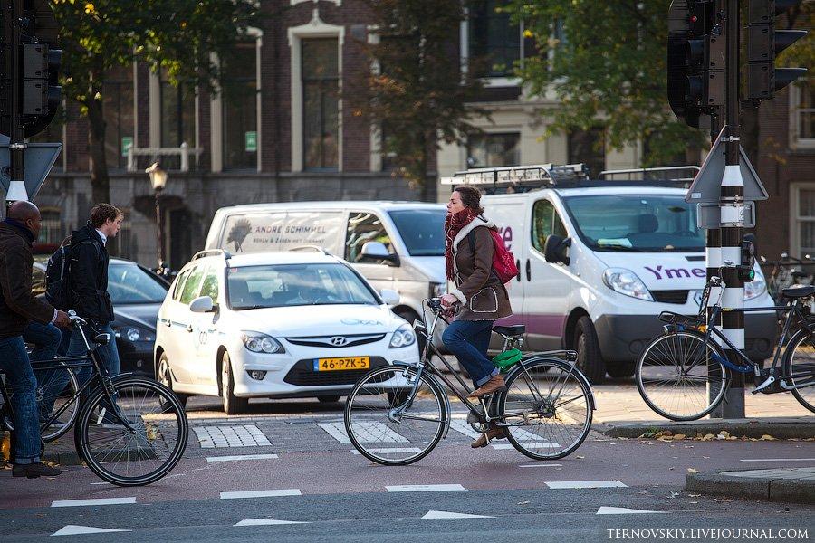 Велосипедный  Амстердам