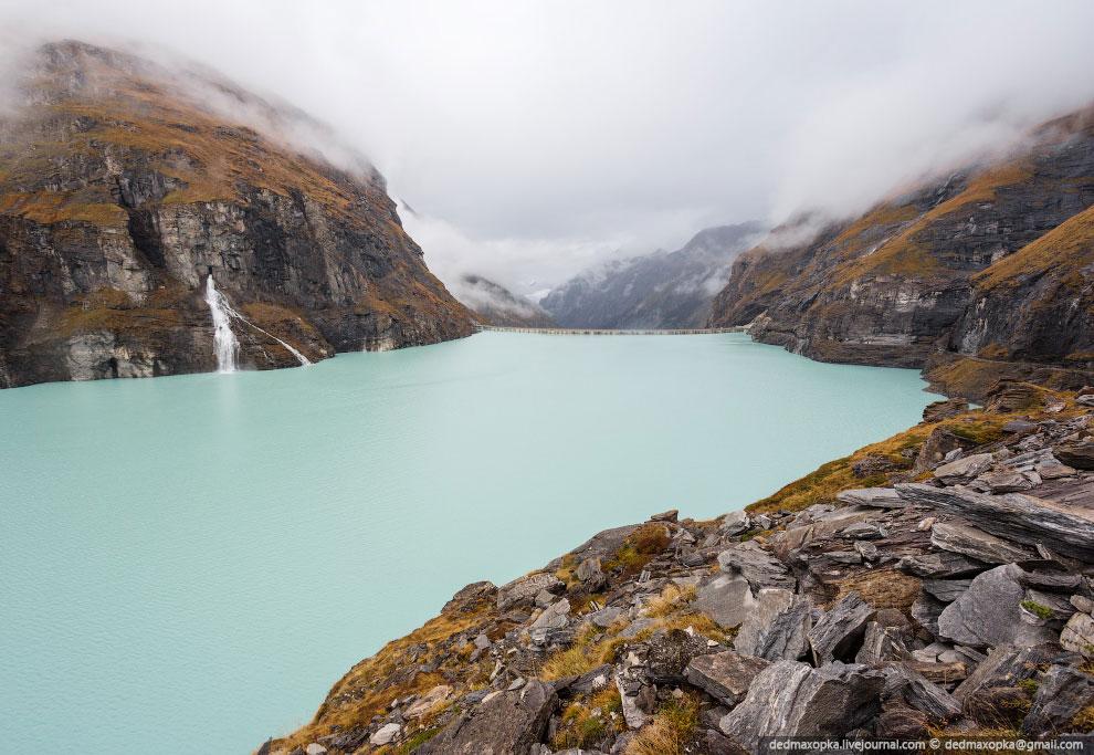 Плотина Мавосин в Швейцарии