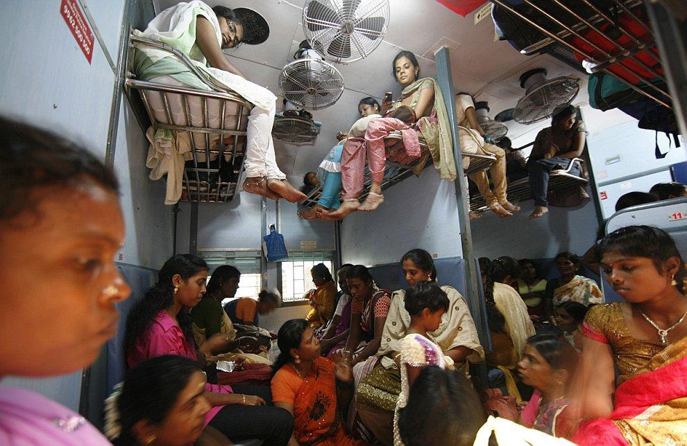 Плацкартный вагон по-индийски