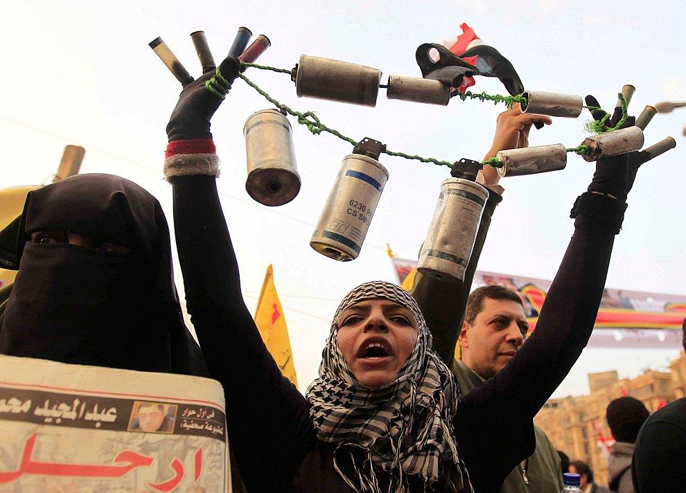 У нас был Хосни Мубарак, и мы его прогнали, теперь прогоним и Мохаммеда Мурси