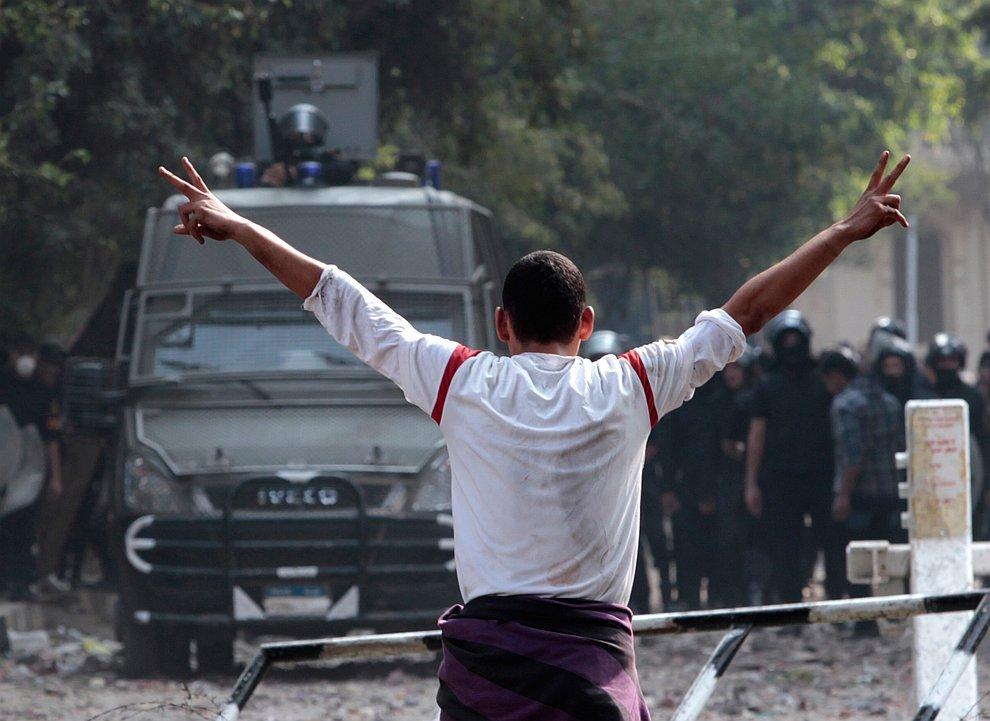 Волнения в Египте не утихают уже больше недели