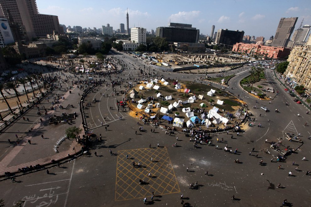 Центральная площадь Каира — Тахрир