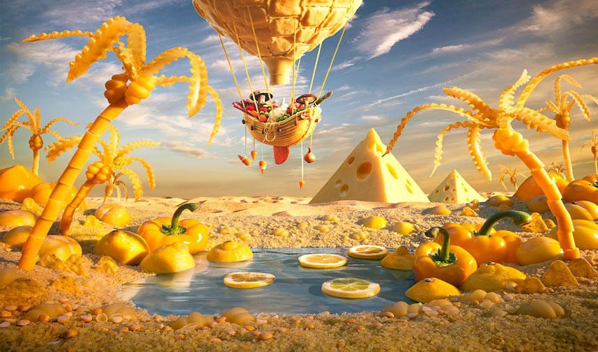 Желтый оазис