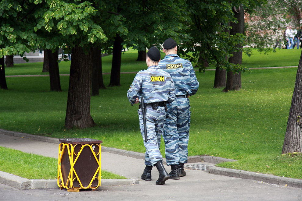 Москва. Александровский сад сегодня