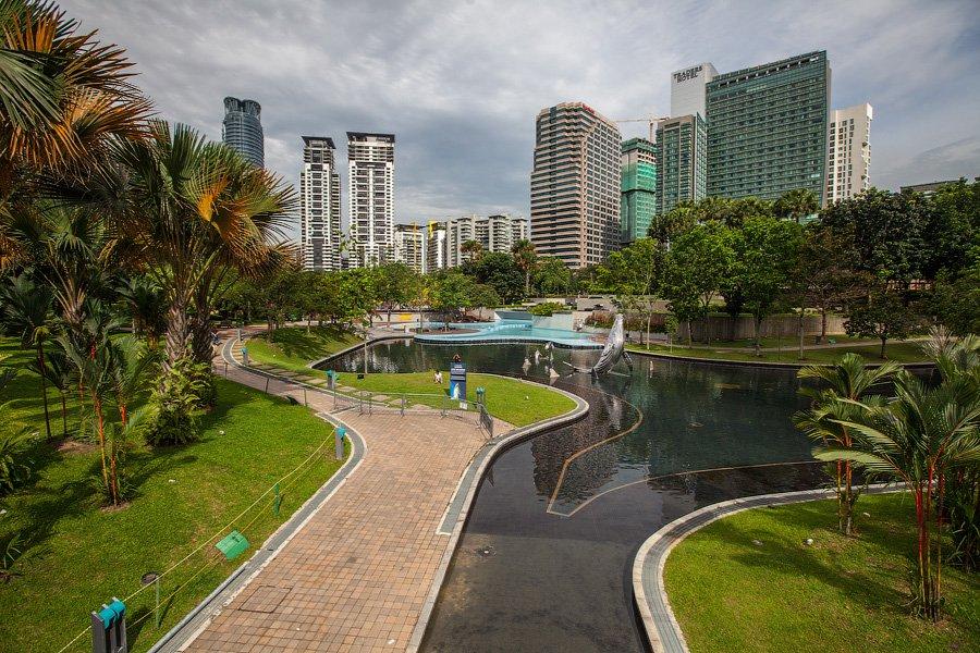 Парк Petronas Twin Towers