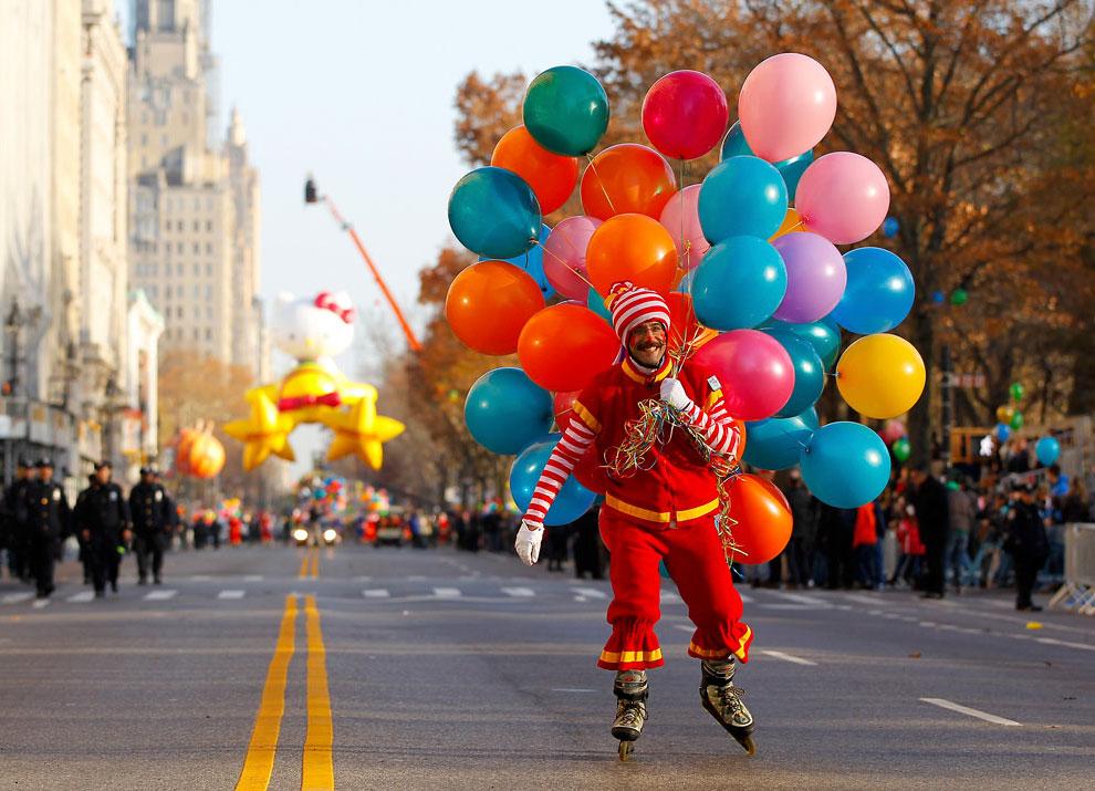 Парад Мейси в честь Дня благодарения 2012