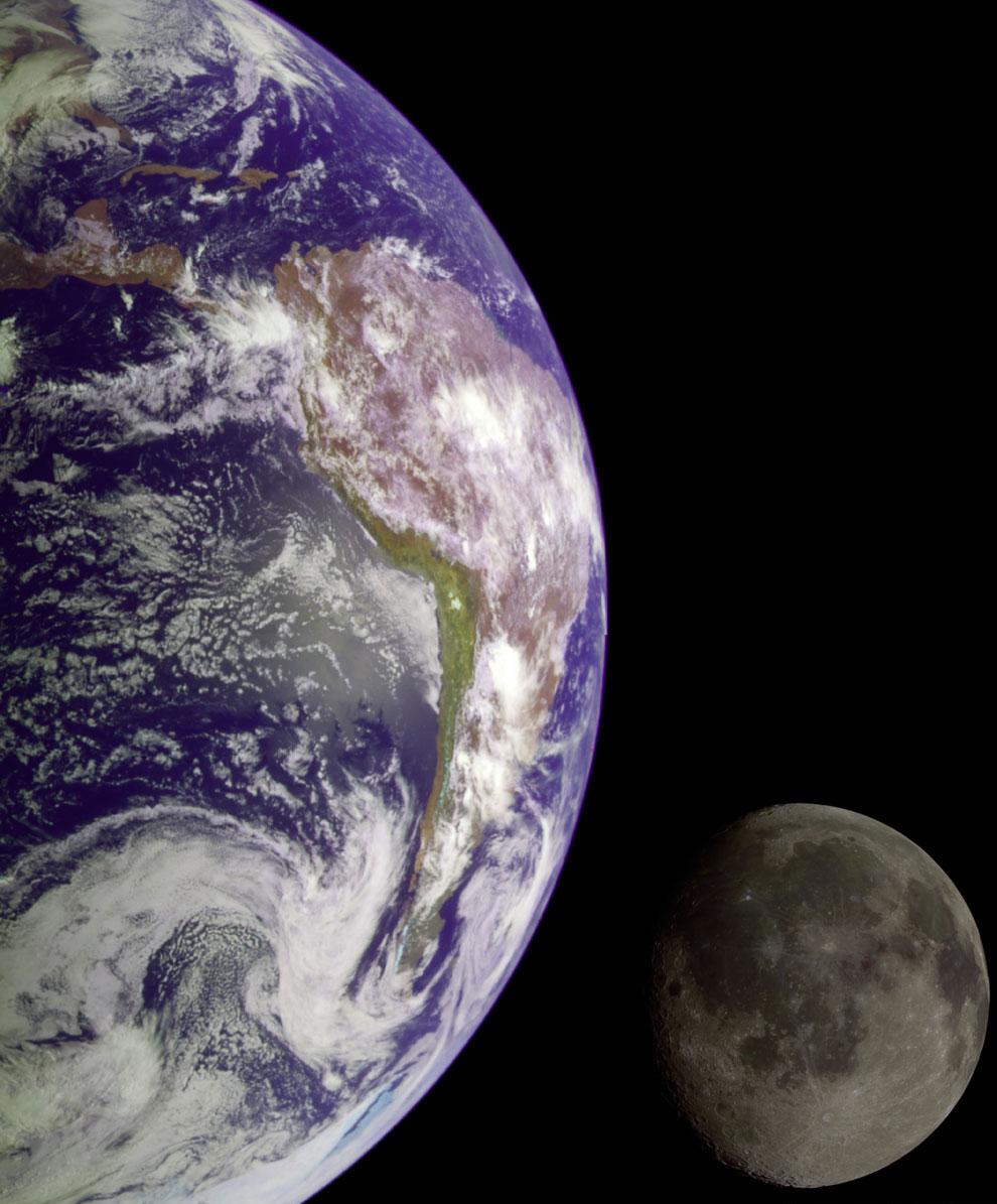 Таким образом, Луна — объект, который удерживает нашу Землю от беспорядочного вращения