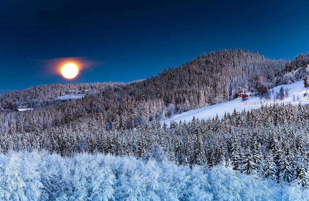 Луна в Норвегии