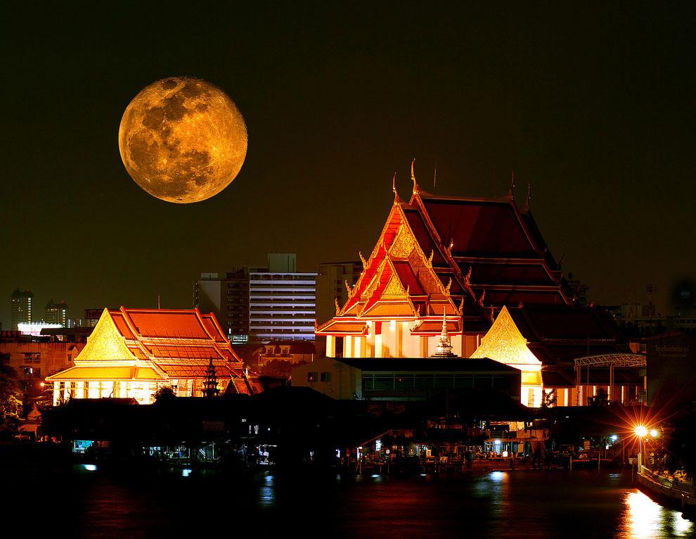 Полнолуние в Бангкоке