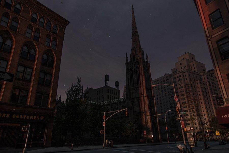 Апокалиптический Нью-Йорк