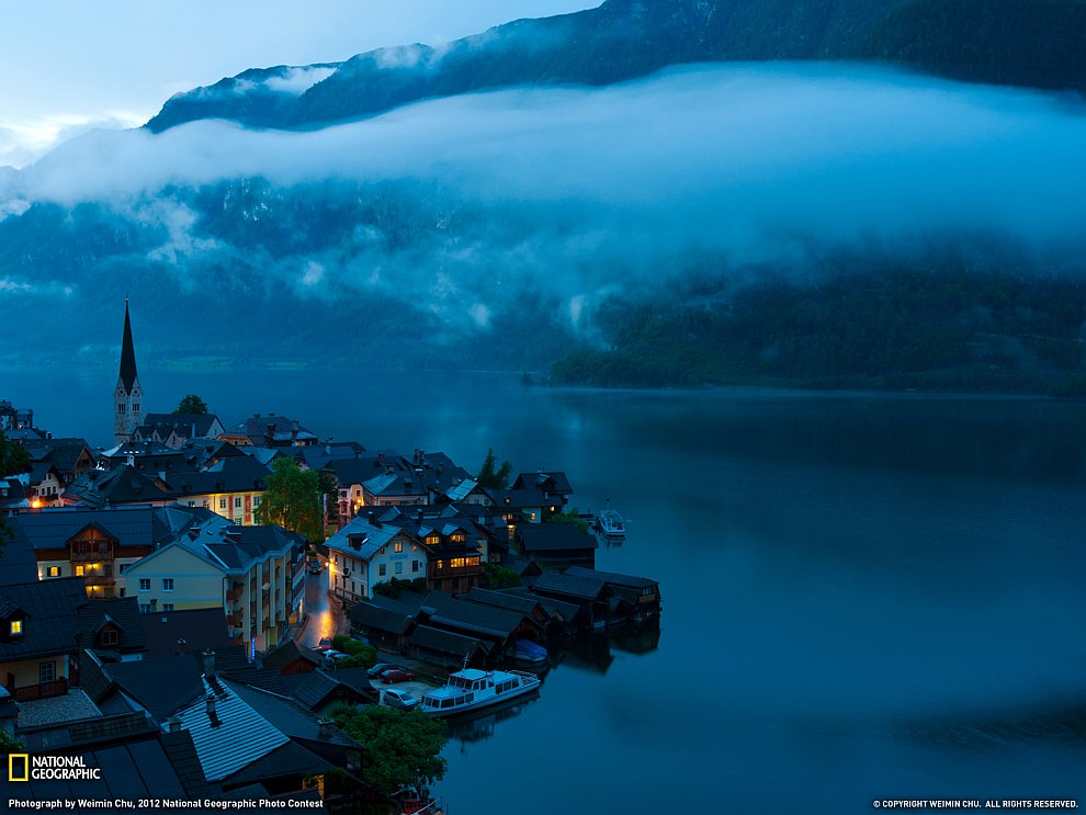 Райский городок Гальштат, Австрия