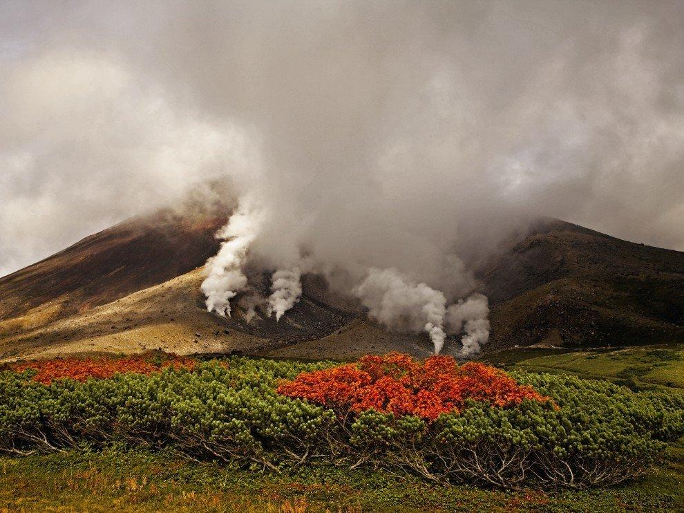 Вулкан Асахи, Япония