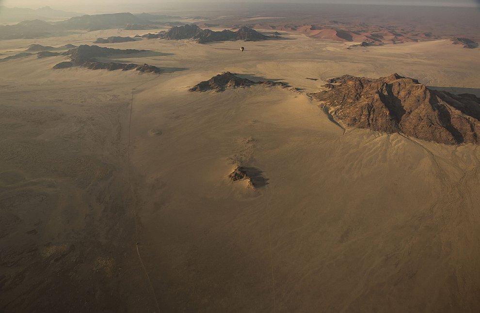 Рассвет в пустыне Намиб