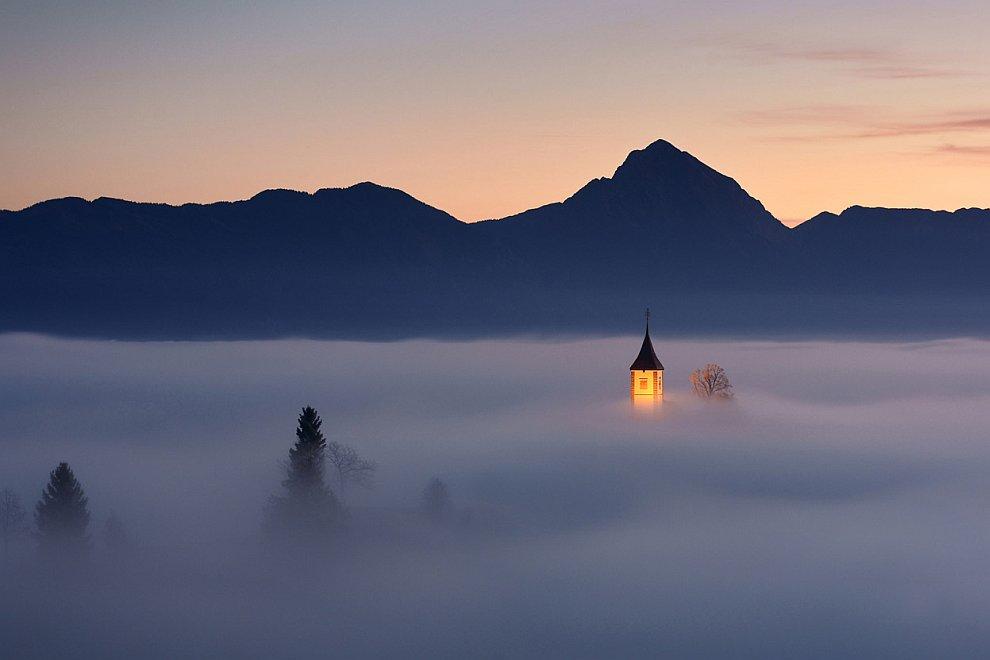 Кусочек рая: небольшая деревня в Словении