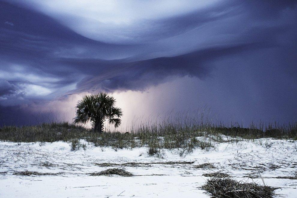 Буря на побережье