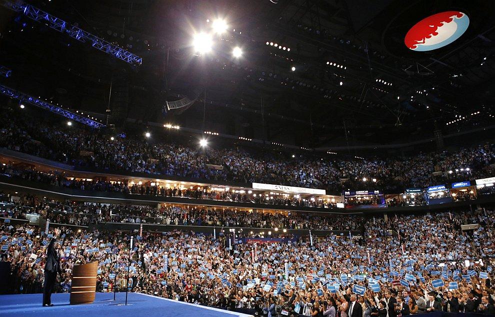 Национальный съезд Демократической партии в Шарлотте, Северная Каролина