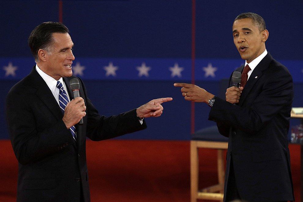 Общие суммарные затраты предвыборных штабов Барака Обамы и Митта Ромни на агитацию составили около 1 млрд долларовОбщие суммарные затраты предвыборных штабов Барака Обамы и Митта Ромни на агитацию составили около 1 млрд долларов
