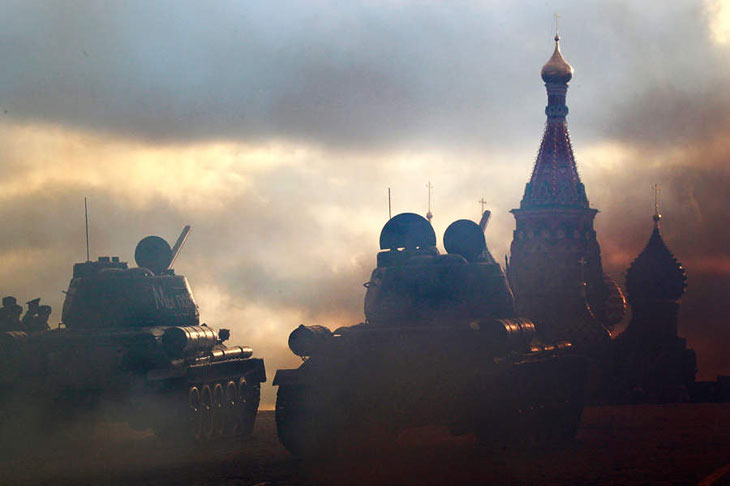 Торжественный марш на Красной площади