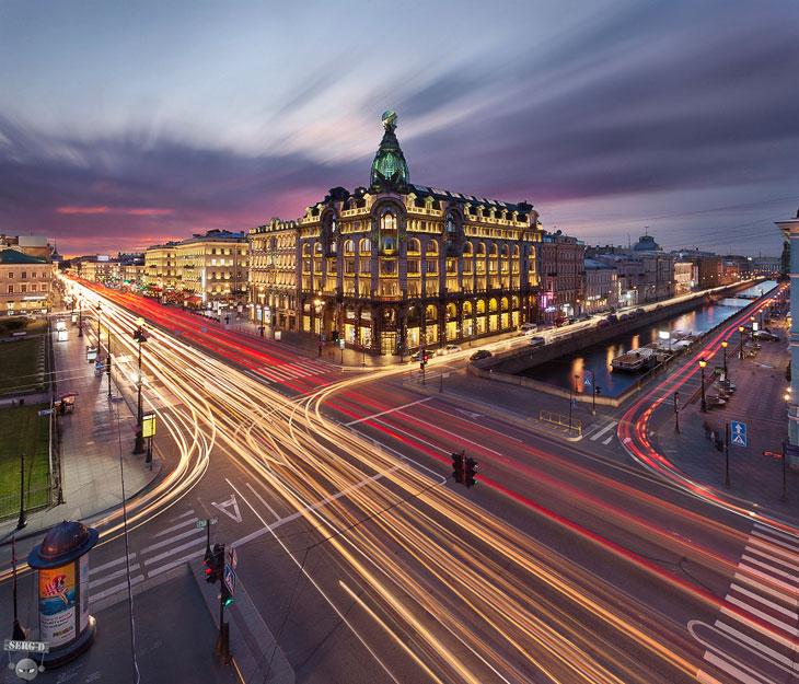 Открыточный Санкт-Петербург