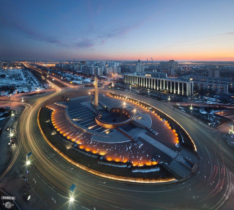 Площадь Победы, Пулковское шоссе