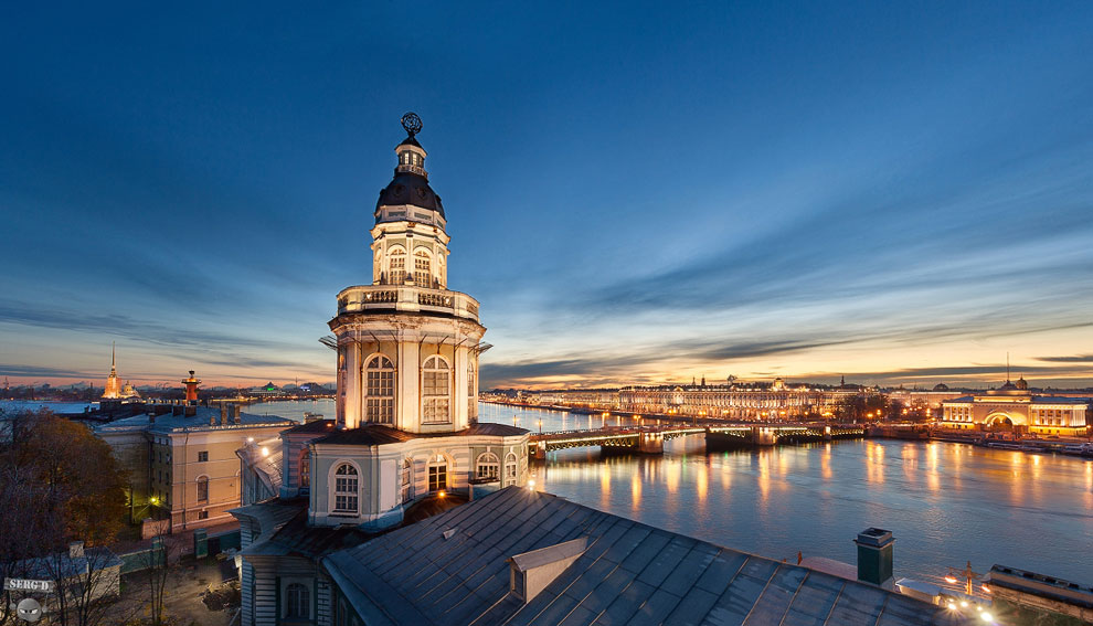 Кунсткамера — один из старейших музеев Северной столицы и всей России