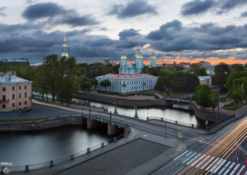 Никольский собор, Крюков канал