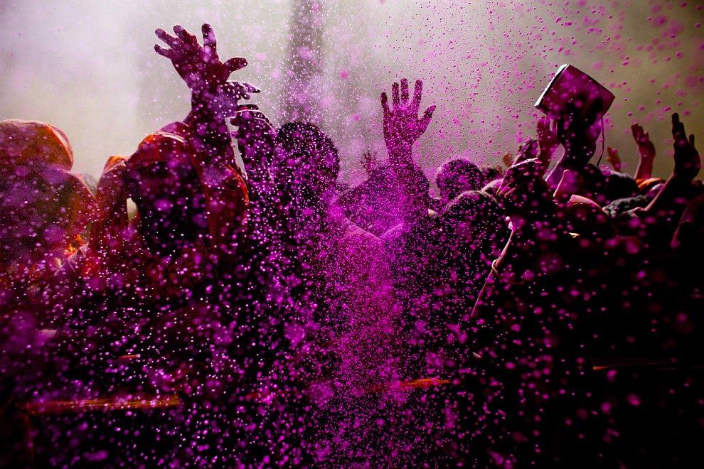 Холи — фестиваль весны и ярких красок