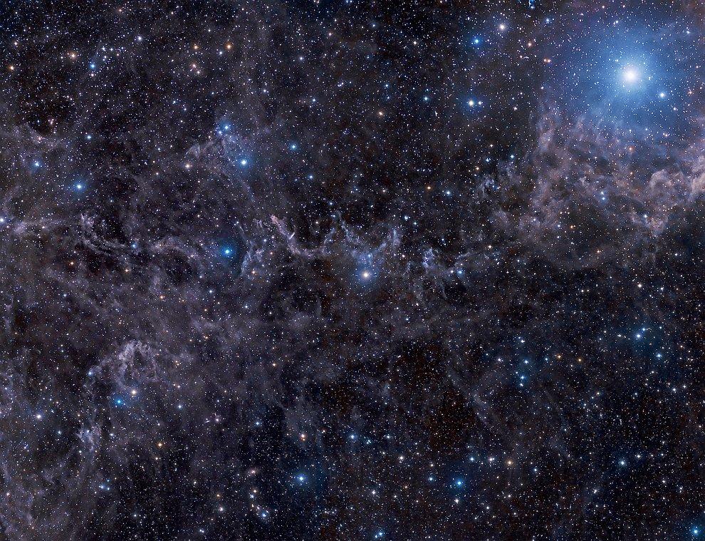 Звезды на пыльном небе