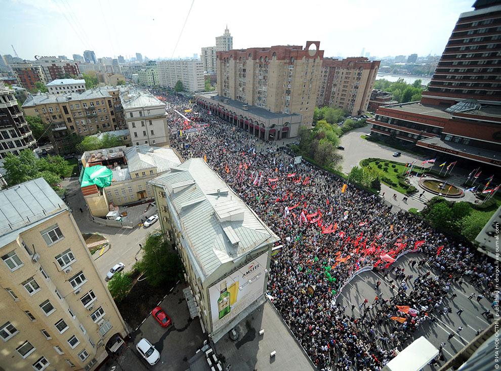 6 мая 2012 оппозиционный «Марш миллионов» в Москве закончился провокациями и массовыми столкновениями с полицией